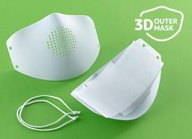 マスク不足を解消 3Dマスクを開発